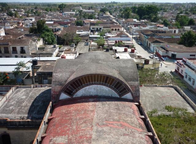 Desde el campanario de la iglesia católica de Guanajay. Foto: Javier Montenegro