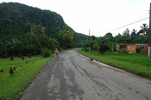 Carreteras que unen un pueblo disperso