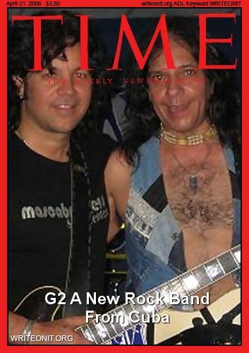 Ozzy O'Donell y Nick Peraza en la revista Times