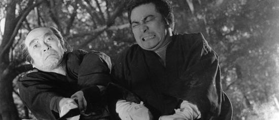 Fotograma de Zatoichi, filme de Kenji Misumi