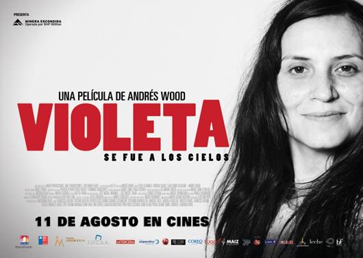 Poster de Violeta se fue a los cielos