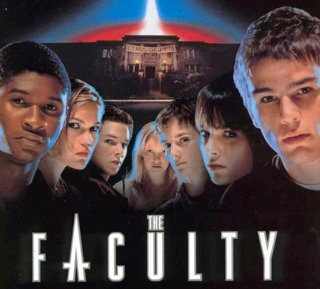 Poster del film The Faculty.